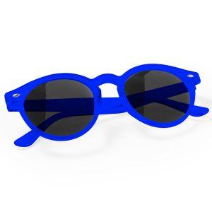 Circular Promotional Sunglasses In Blue