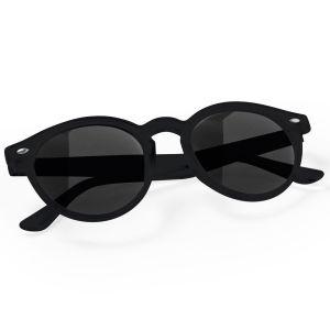 Circular Promotional Sunglasses In Black