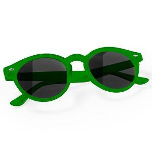 Circular Promotional Sunglasses In Green