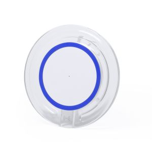 Branded Wireless Charger in Blue