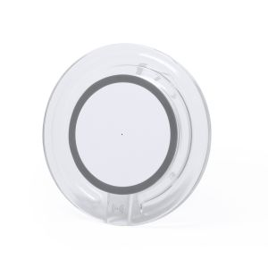 Branded Wireless Charging Pad in Grey