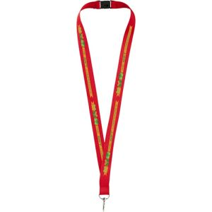 Express Branded Lanyards in Red