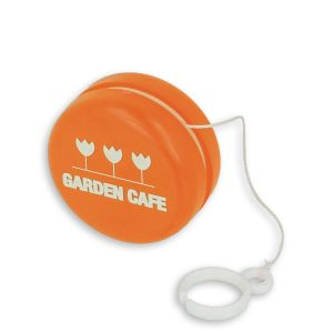 Recycled yo-yos and eco-friendly branded giveaways