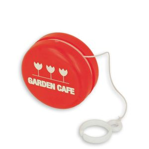 Corporate branded yoyos as giveaways or resale items