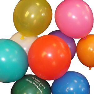 Promotional Balloons In A Range Of Colours
