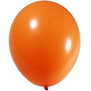 Orange Branded Balloon