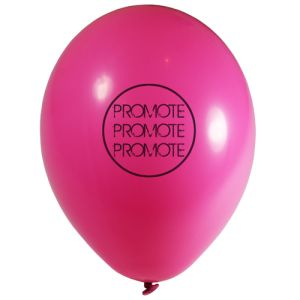 Pink Promotional Balloons