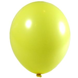Biodegradable Balloons In Yellow