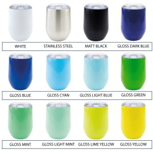Colours Available for Reusable Branded Cup