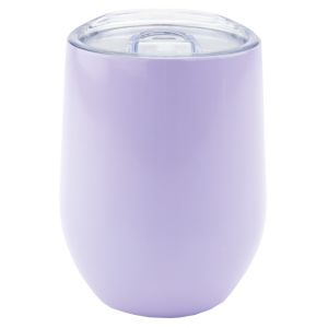 Branded Reusable Stainless Steel Cup in Gloss Light Voilet
