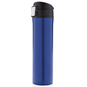 Easy Lock Vacuum Flasks In Blue/Black