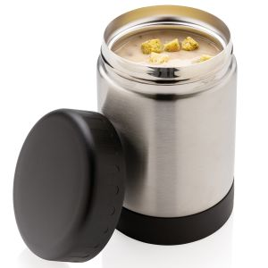 Engraved Vacuum Insulated Steel Food Flask