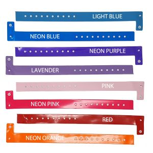 Promotional Vinyl Wristbands In A Range Of Colours