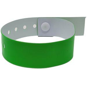 Vinyl Printed Wristbands In Neon Green