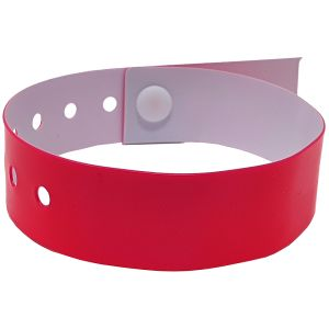 Promotional Wristbands In Neon Pink