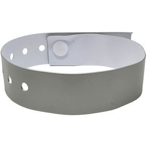 Printed Wristbands In Silver