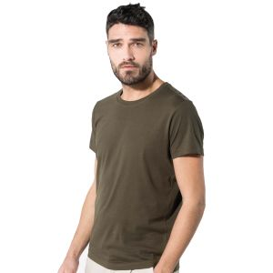Kariban Organic Cotton T-Shirts In Mossy Green