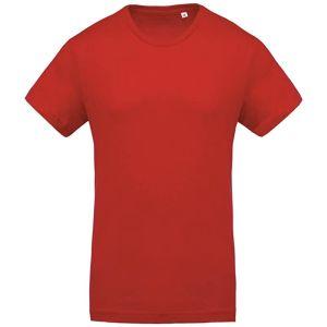Kariban Organic Cotton Promotional T-Shirts In Red