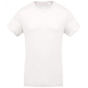 Kariban Organic Cotton T-Shirts In Cream
