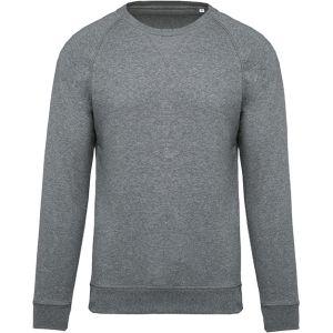 Organic Cotton Sweatshirts In Grey Heather