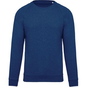 Organic Cotton Promotional Sweatshirts In Ocean Blue Heather