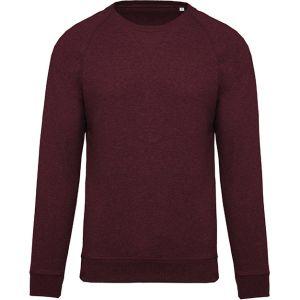 Organic Cotton Promotional Sweatshirts In Wine Heather