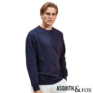 Asquith & Fox Organic Sweatshirts In Navy