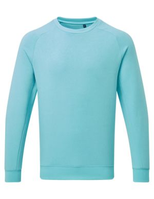 Asquith & Fox Organic Cotton Sweatshirts In Bright Ocean
