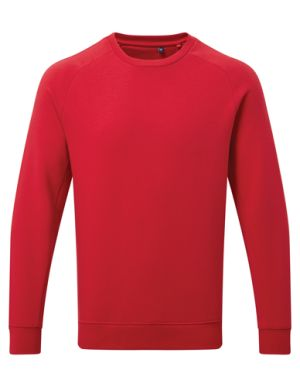 Asquith & Fox Branded Sweatshirts In Cherry Red