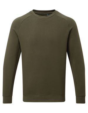 Asquith & Fox Organic Sweatshirts In Olive