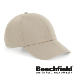 Beechfield Organic Cotton Caps In Sand