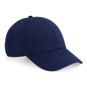 Beechfield Organic Cotton Caps In Oxford Navy