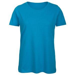 B & C Inspire Ladies' Organic Printed T-Shirts in Atoll