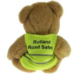 Hi Vis Jacket Honey Promotional Teddy Bears