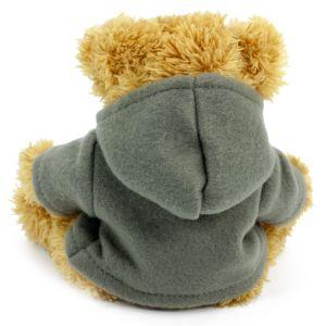 20cm Sparkie Bear with Grey Hoody