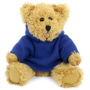 20cm Sparkie Bear with Navy Hoody