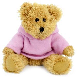 20cm Sparkie Bear with Pink Hoody