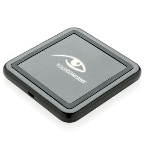 Branded Light Up 5W Wireless Chargers