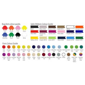Promotional logobugs in a choice of colours