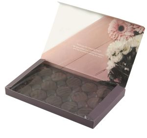 Custom branded Mint Creme Chocolate Boxes with your Logo