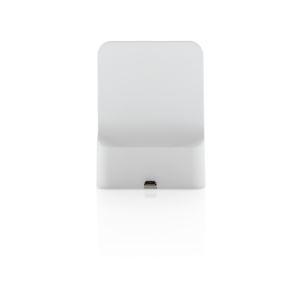 Elegant wireless phone charger with custom branding