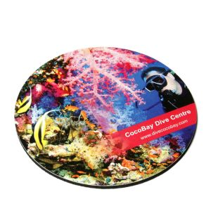 Promotional Anti-Bacterial Hardtop Coasters