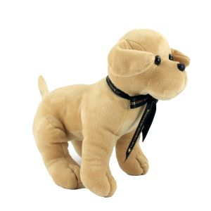 Printed bow dog teddies at corporate gifts