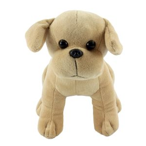 Plush toy dog merchandise for family events