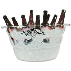 Promotional 12 Litre Plastic Cool Buckets for Catered Events