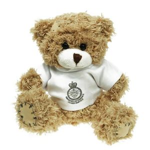 Promotional paw bears with company branding