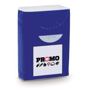 Custom printed tissue packs