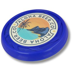 Eco-friendly frisbees made in the UK for promotional giveaways