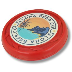 Promotional recycled flying discs for fun novelty merchandise