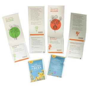 Branded Eco-Friendly Plant Fibre Seed Packets